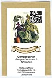 Samen - Saatgutsortiment - Set - Mix - Mischung - kleiner Gemüsegarten 3-12 Sorten - 585 Samen