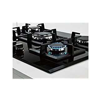 Balay 3ETG676HB Integrado Encimera de gas Negro hobs – Placa (Integrado, Encimera de gas, Vidrio, Negro, hierro fundido, 1000 W)