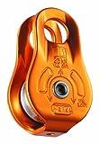 Petzl, carrucola versatile compatta Fixe, colore giallo, P05WN