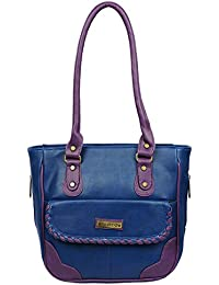 Fantosy Women Blue And Purple Charry Handbag Fnb-683