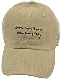 SHIZHESHOP Bordado de Letra Salvaje Sombrero de Lengua de Pato Negro  Sombrero de Lava Retro Femenino Gorra de béisbol… cb899f901ce