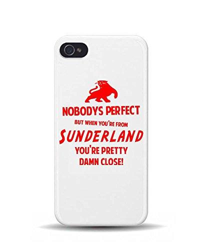 iPhone 5/5S lorsque vous êtes de Sunderland Humour Britannique 3D Coque téléphone portable