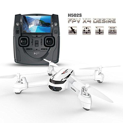 Goolsky Hubsan H502S FPV 720P HD Kamera Drohne RC Quadrocopter mit GPS CF-Modus Automatische Rückkehr Funktion