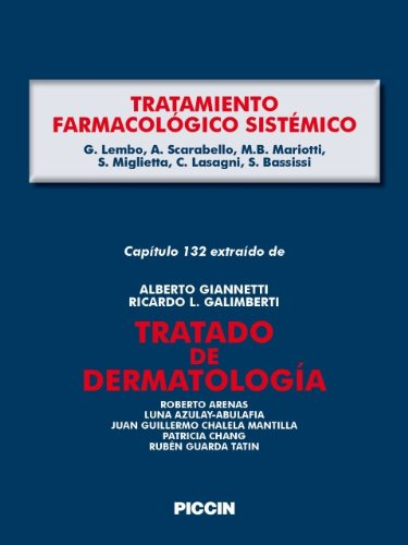 Capítulo 132 extraído de Tratado de Dermatología - TRATAMIENTO FARMACOLÓGICO SISTÉMICO por A.Giannetti