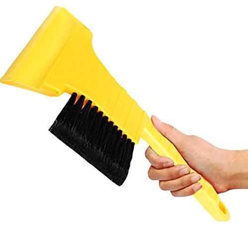 Thee-da-parabrezza-auto-neve-pennello-Ice-pala-raschietto-strumento-di-pulizia