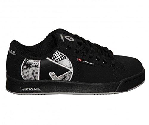 Airwalk Skateboard Damen Schuhe Liandra Black Sneakers Shoes, Schuhgrösse:35 -