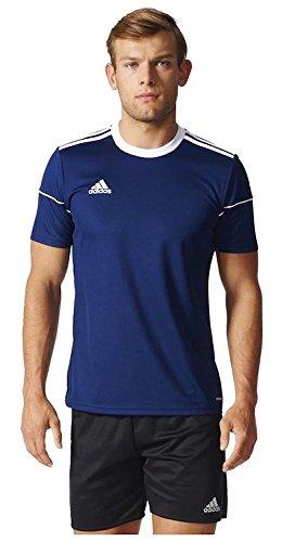 adidas Herren Squad 17 Jsy Ss T-shirt, dark blue/White, 140 -
