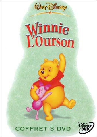Coffret Winnie l'ourson 3 DVD : Les aventures de Winnie l'ourson, Vol. 1 & 2 / Les aventures de Porcinet