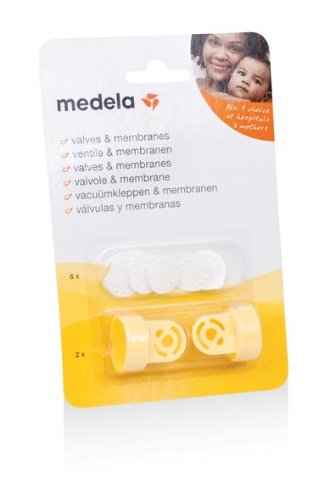 Medela 0080293 - Pack de válvulas y membranas