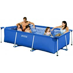 Piscina tubular rectangular intex 2.20m x 1.50m x 0.60cm 58983