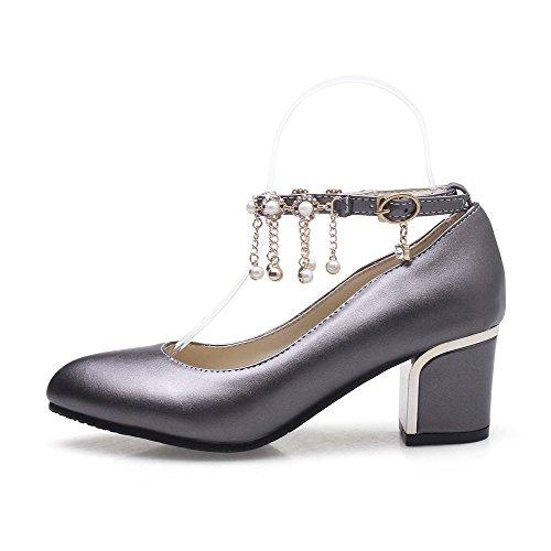 L Chaussures Femme Correct VogueZone009 geres Pointu M re M Couleur Mati Talon langee tal Boucle Unie 7wqSdqfP
