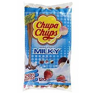 Preisvergleich Produktbild Chupa Chups cremigen Geschmack Lolly Bag - Bulk Süßigkeiten (Packung mit 120)