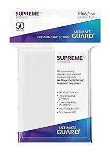Ultimate Guard- Protective Card Sleeves Juego de Cartas, Color Gris Oscuro, única (UGD10789)