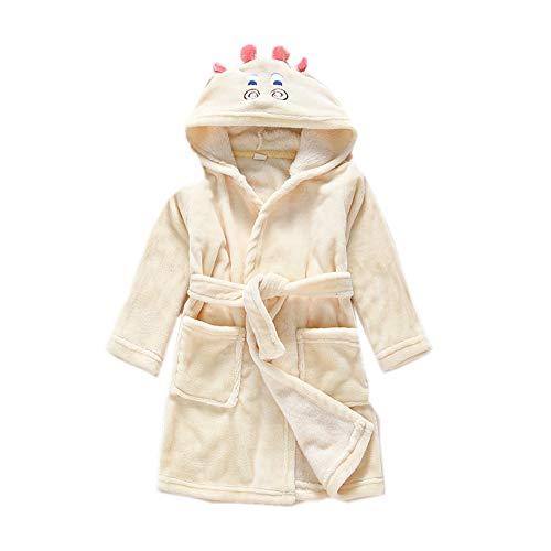 DarkCom Unisex Kinder Bademantel mit Kapuze Cosplay Kostüme Tiere Ankleiden Robe Für Mädchen und Jungen (140 (Suggest Höhe: 130 CM-140 cm), Hirsch)
