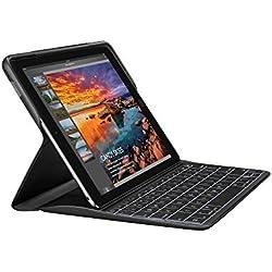 Logitech 920-008133 Create iPadPro9.7 Étui Clavier Rétroéclairé sans Fil et SmartConnector 1ère Génération (Clavier Française AZERTY, Noir)
