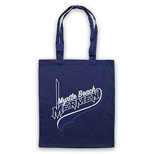 Inspiriert durch Eastbound & Down Myrtle Beach Mermen Inoffiziell Umhangetaschen Ultramarinblau