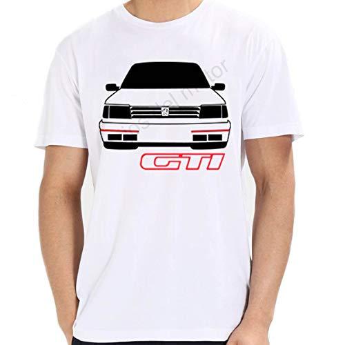 T-Shirt Peugeot 309 GTI 16 V, Weiß XL -