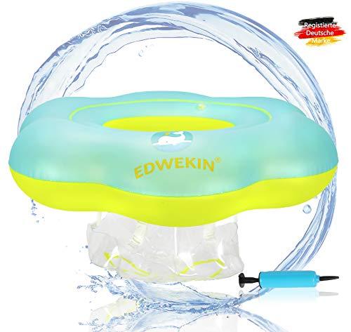EDWEKIN® Baby Schwimmring, Mitwachsende Schwimmhilfe, Schwimmsitz, Baby Float, Schwimmreifen für Babys, Kleinkinder, Kinder ab 6 Monate bis 3 Jahre (M)