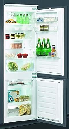 Whirlpool ART6610/A++ Intégré 275L A++ Blanc réfrigérateur-congélateur - réfrigérateurs-congélateurs (Intégré, Blanc, Droite, 275 L, SN-T, 35 dB)