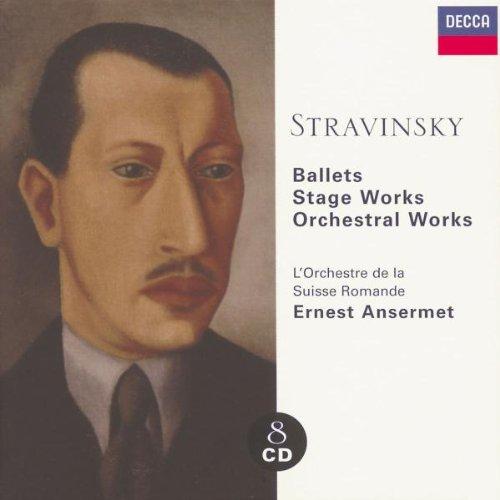 Stravinski : Ballets / Oeuvres pour la scène / Oeuvres orchestrale (Coffret 8CD)