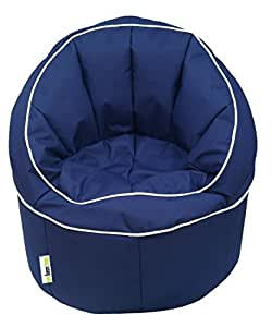 ORKA Big Boss Chair XXXL, Filled with Beans- Blue
