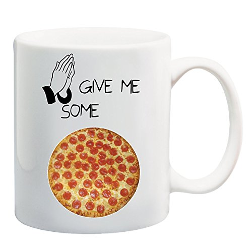 Please Give Me Some Love Pizza T-Shirt Mug