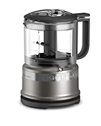 KitchenAid 5KFC3516ECU 240-Watt Food Chopper (Contour Silver)
