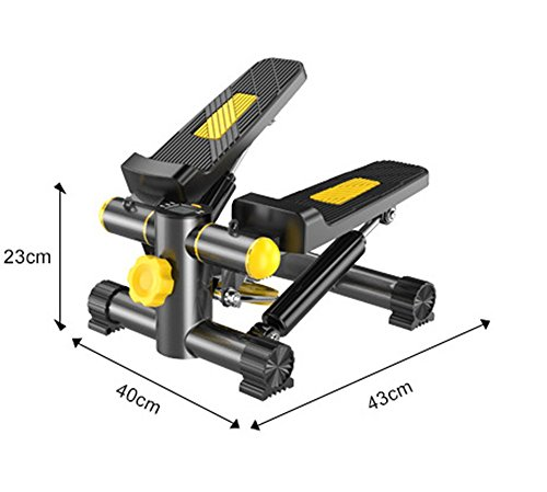41T4aBPa95L - SZSY HOME Foot Stepper Home Mini Stepper Exercise Stepper Mute Pedal Multi-functional Fitness Lose Legs Arms Thigh Toner Weight