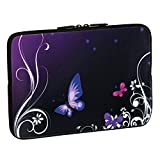 Pedea Design Tablet PC Tasche 10,1 Zoll (25,6 cm) neopren purple butterfly