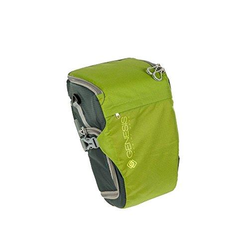 Genesis Rover Colttasche grün für DSLR Kamera, Systemkamera (wasserabweisende Bauchtasche, Zubehörtasche, ()