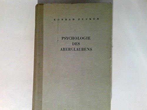 Psychologie des Aberglaubens