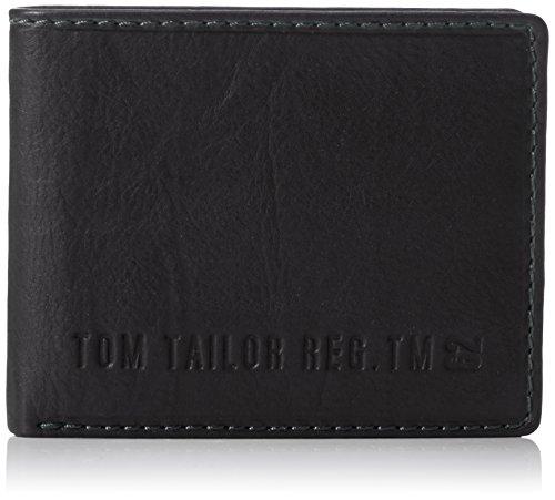 Tom Tailor Acc Herren Harry Geldbörsen, Schwarz (schwarz 60)