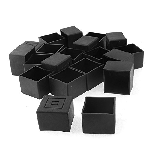 square-furniture-table-chair-leg-foot-cover-cap-30mmx30mm-20pcs-black