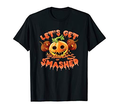 Lets Get Smashed Halloween Trinkspiel T-Shirt