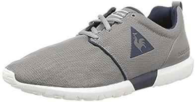 Le Coq Sportif Dynacomf Text, Sneakers Basses homme, Gris (Titanium), 40 EU