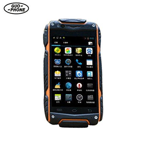 Guophone V8 Wasserdicht Telefon Android 4.4 Outdoor Telefon Dual Core MTK6572 512 MB RAM 4,0 IPS WIFI GPS Dual Sim