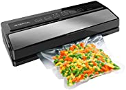 GERYON Vacuum Sealer Machine, Automatic Food Sealer for Food Savers w/Starter Kit|Led Indicator Lights|Easy to
