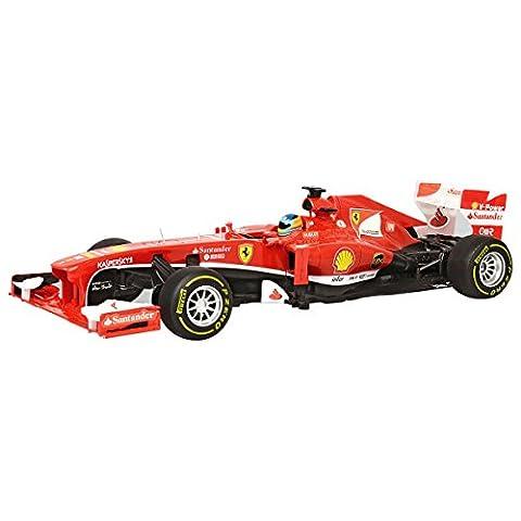 RASTAR Ferrari F1 Ferngesteuertes 1:12 R / C Auto-Skala RC lizenziertes batteriebetriebenes elektrisches Geschenk-Spielzeug-Modell - Rot