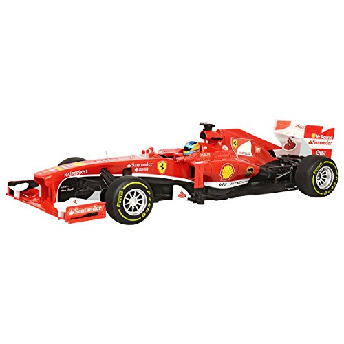 ferngesteuertes formel 1 auto Charles Bentley Ferrari F1 - Ferngesteuertes Formel-1-Modellauto für Kinder - Maßstab 1:12 - Rot