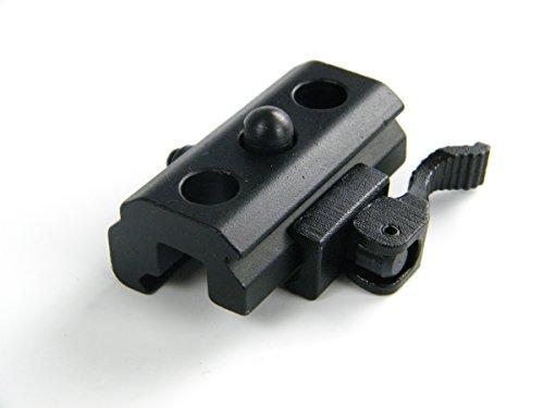 Preisvergleich Produktbild schnell Veröffentlichung Berg Zweibein Schleuder Drehgelenk Adapter w/Weaver Picatinny Schiene 20mm HMB005