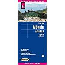 Reise Know-How Landkarte Albanien (1:220.000): world mapping project, reiß- und wasserfest
