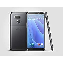 HTC, Desire 12s, Smartphone débloqué, 4G, (5,7 Pouces, 32Go, Double Nano SIM, Android 8.1) Noir