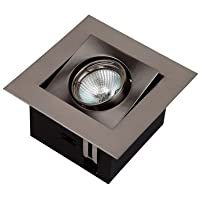 Bricolux - Spot halogeno empotrab. c/lamp gu10 1und