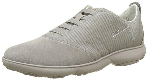 Geox U Nebula F, Sneakers Basses Homme Gris (Rockc5097)