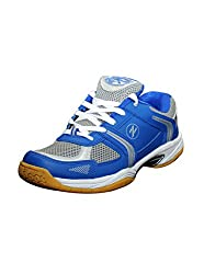 Zigaro MenS Blue Silver Badminton Shoe-9