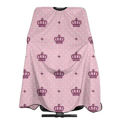 Royal Crown Imperial Professionelle Friseursalon Polyester Haarschnitt Schürze 55