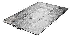 Grand Canyon Aluminium Doppel -/ Alu-Isolier-/ Thermo-/ Isomatte / Isolierende Unterlage, als Wärmeschutz, für Camping, Outdoor, Wandern, Reisen, 190 x 120 cm, 305003