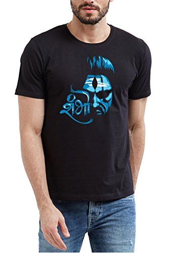 WYO Mens Cotton Printed Shiv Shambhu T-Shirt