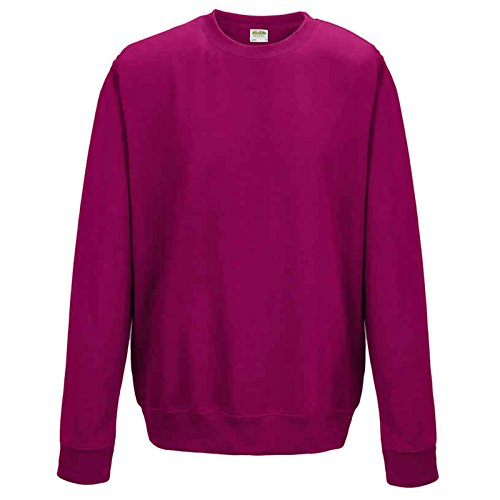 Navy Blue Jacke Hot (AWDis Herren Modern Sweatshirt Gr. XXL, hot pink)