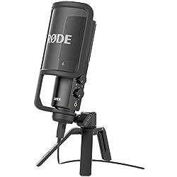Rode NT-USB Microphone Noir